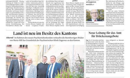 Zuger Zeitung – Besonderes Bistro